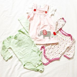 3 for $20 🔥 Three Baby Outfits in Size 6M